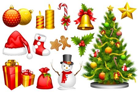 Ontwerp van Kerstmis Object
