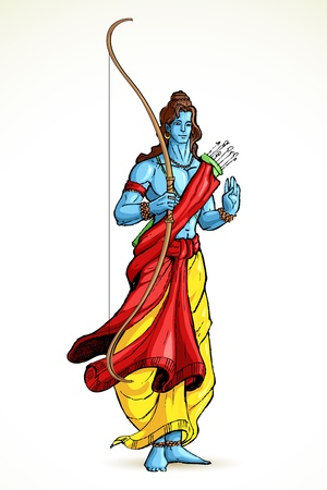 rama: Lord Rama Illustration