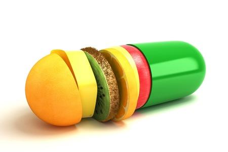 antibiotic capsule: Vitamin Capsule