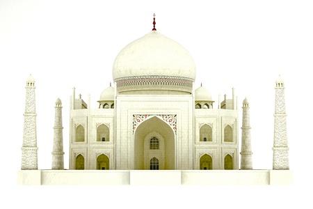 3d temple: Taj Mahal