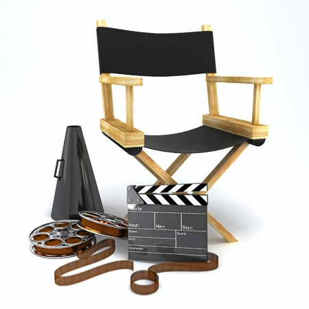 movie clapper: Director s Chair