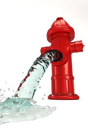fire hydrant: Water Hydrant Stock Photo