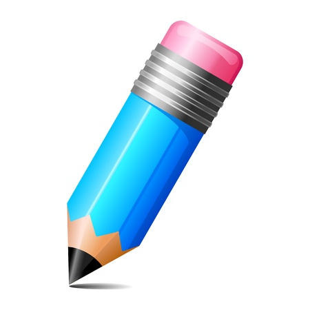 ołówek: Ołówek Wektor Ilustracja