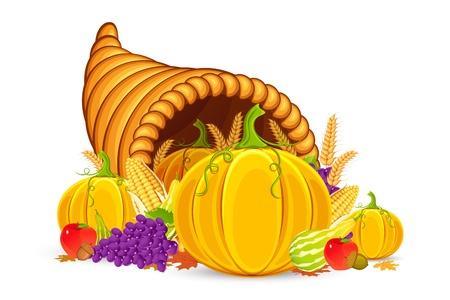mimbre: Thanksgiving Cornucopia