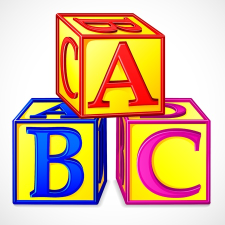 ABC Block Stock Vector - 15110443
