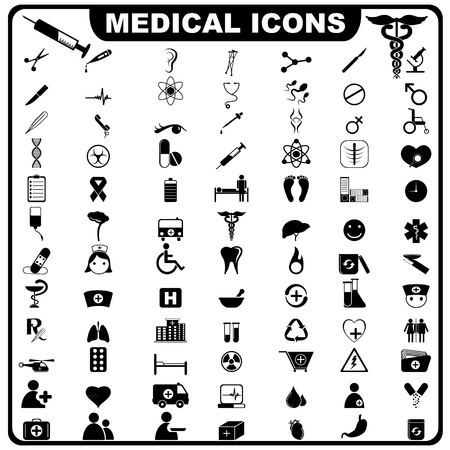 medical instruments: Biểu tượng y tế