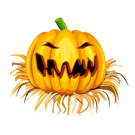 trick or treat: Halloween Pumpkin Illustration