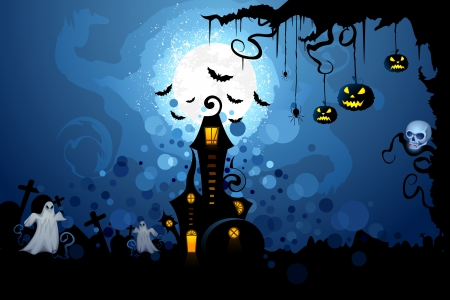Halloween Background Stock Vector - 15470303