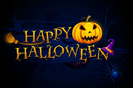 Hallowen Background Stock Vector - 15470302