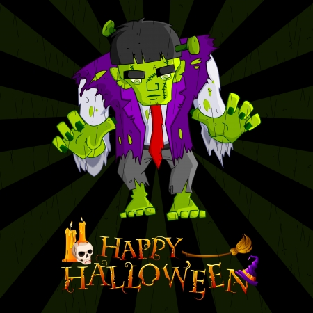 Halloween Monster Stock Vector - 15730783
