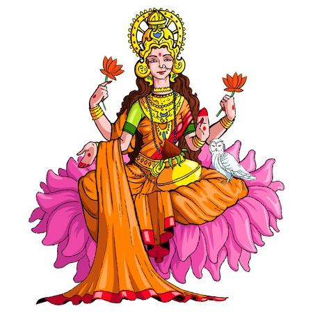 Tajomstvo vytvárania hojnosti - Bohyňa Lakšmí - Bohyňa Bohatstvo