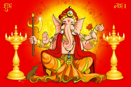 idol: Ganesh and Deepawali