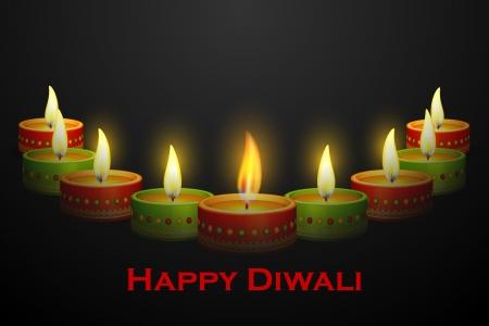 deepawali: Diwali Diya decoraci�n