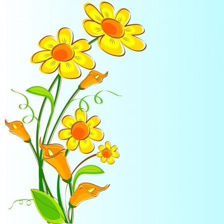 Fresh Flower Stock Vector - 16015343