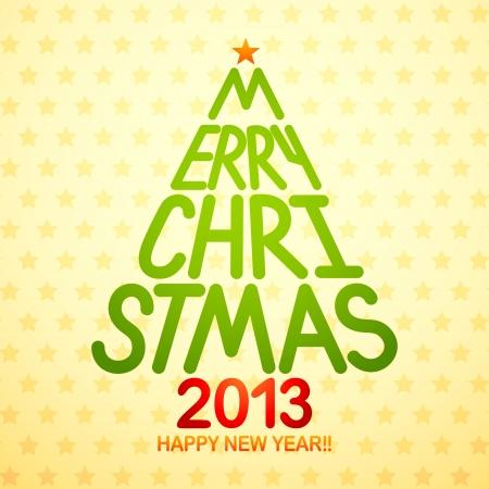 thirteen: Christmas and New Year Illustration