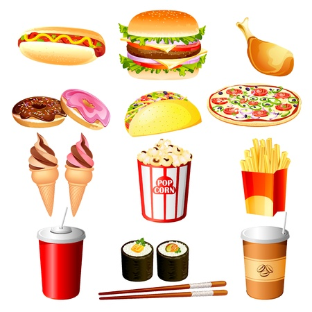 fast food Stock Vector - 16015399