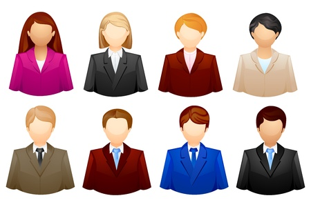 Business People Icon Stock Vector - 16235302