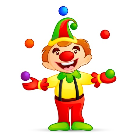 Circus Joker Stock Vector - 16235297