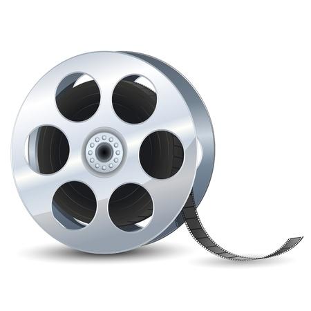 35mm film motion picture camera: Film Reel