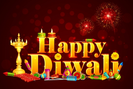 Happy Diwali Stock Vector - 16235315