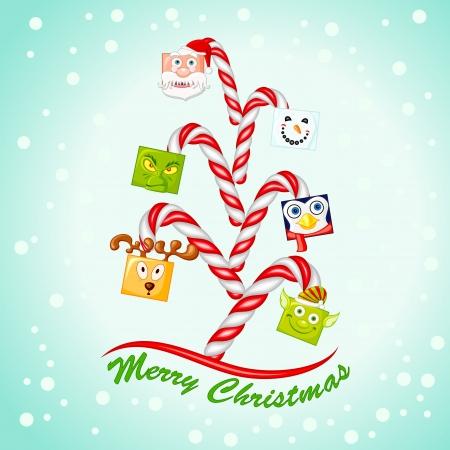 Funny Christmas Tree Stock Photo - 16803860