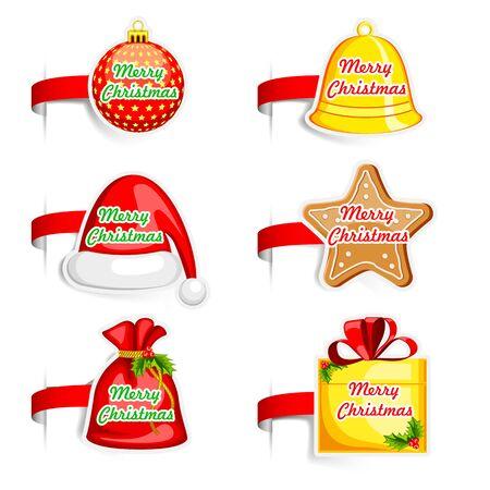 Christmas Tag Stock Vector - 17017763