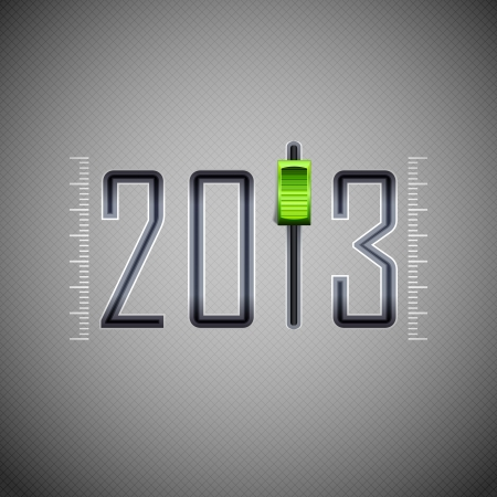 composer: New Year for 2013 Illustration