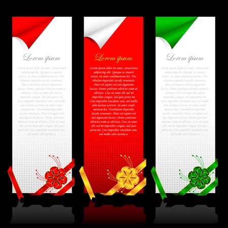 discount banner: Labels with Ribbons