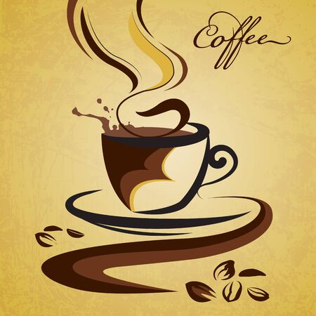 Hot Coffee Stock Vector - 17017784