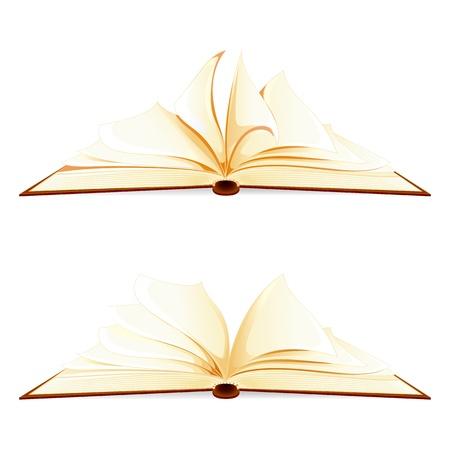 Open Book Stock Vector - 17604379