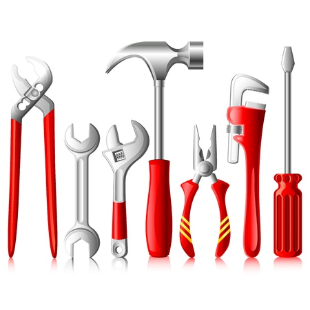 Mechanical Tools Vector