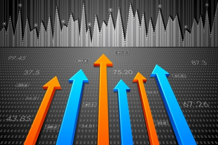 Business Arrow Stock Vector - 17604424