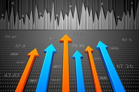 bolsa de valores: Negocios Flecha