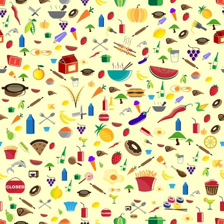 Food Template Vector