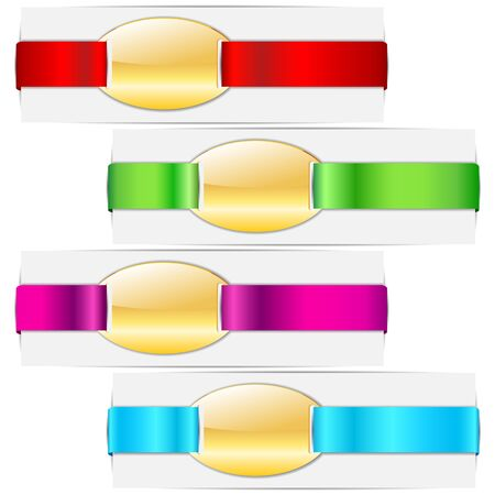 Ribbon Tag Stock Vector - 17604418