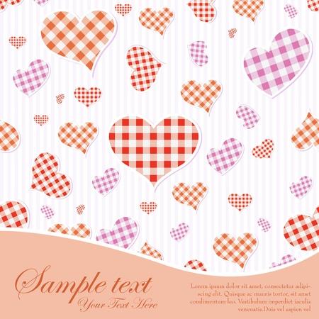 Love Background Stock Vector - 17604428