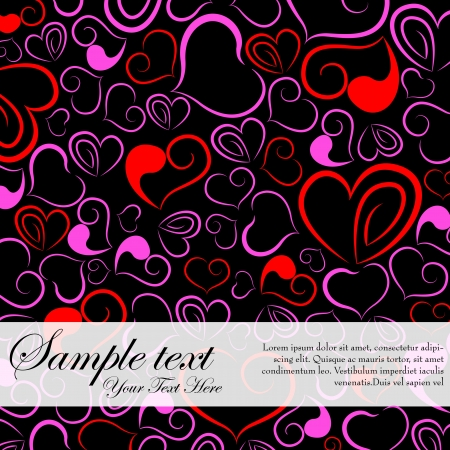 Love Background Stock Vector - 17604416