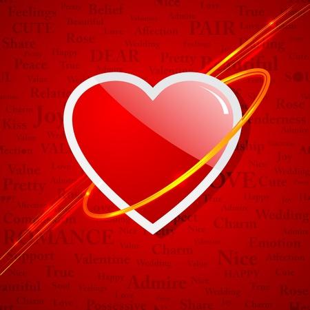 Be my Valentine Stock Vector - 17604434