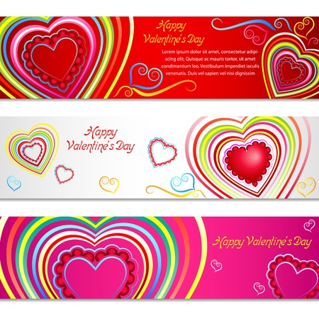 Love Banner Stock Vector - 17604414