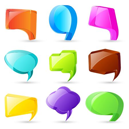 3d Chat Bubble Stock Vector - 17604388