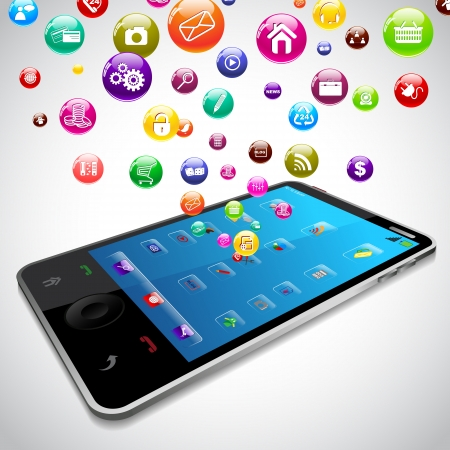 mobile application: Mobile Phone Application