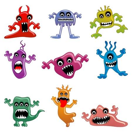 Alien and Monster Stock Vector - 17604398