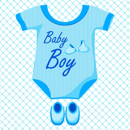 Baby Boy Dress Stock Vector - 17747284