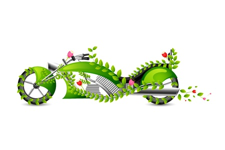moped: Eco friendly style Motor Bike