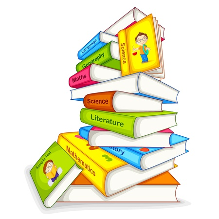 föremål: Boken om olika Ämne Illustration