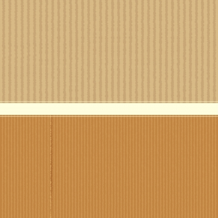 Cardboard Texture Stock Vector - 18029373
