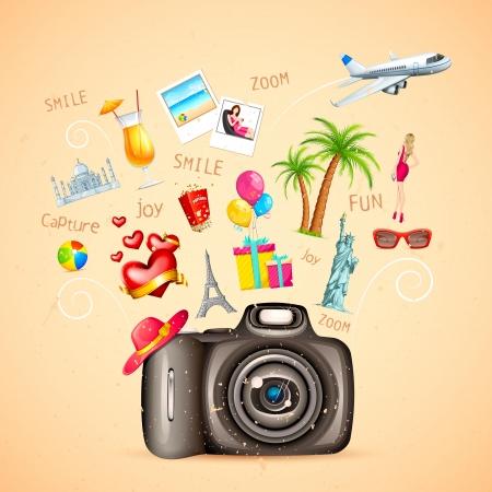 Travel Vacation Vector