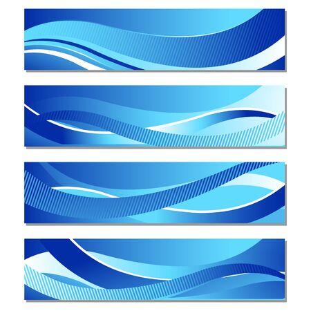 Wavy Banner Stock Vector - 18175027