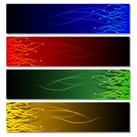 Colorful Banner Stock Vector - 18175044