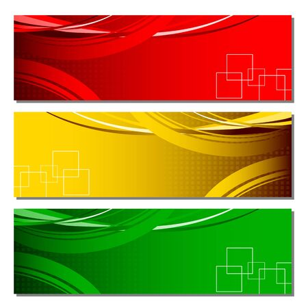 Colorful Banner Stock Vector - 18175286